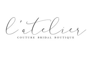 Logo design for L'Atelier Couture Bridal Boutique, Gasman Design, Minneapolis